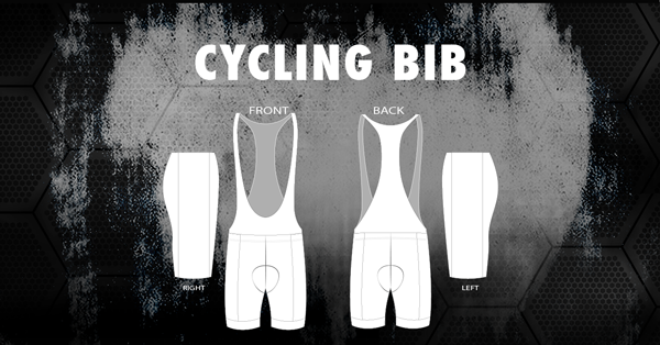 2016 Sublimated Cycling Bib Template | Racer Ink - Racer Ink