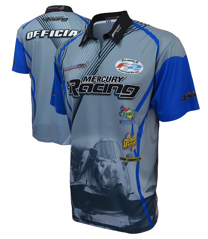 sublimation casual pit crew polos racer ink