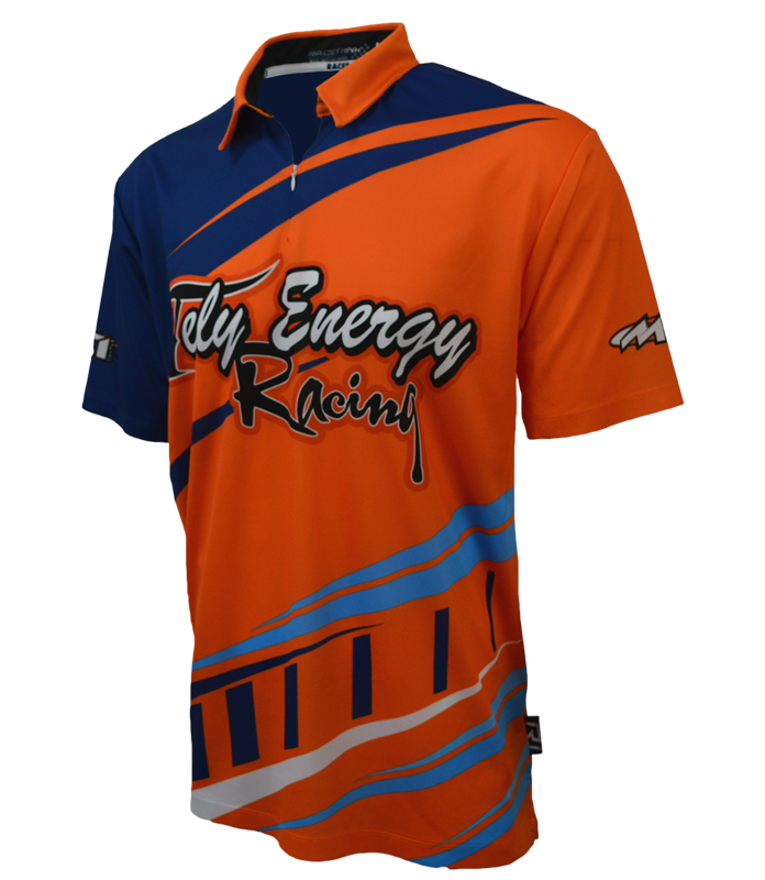 Pit Crew Shirts >> Sublimated Crew Polos Racer Ink