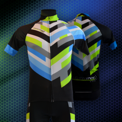 Custom Sublimation | Cycling Gear | Racer Ink