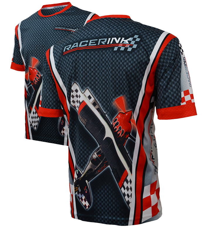 Custom Sublimated Shirts Back